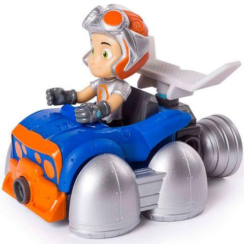 Rusty Rivets 28120-FLY Строительный набор малый с фигуркой героя FLYING RUSTY KART