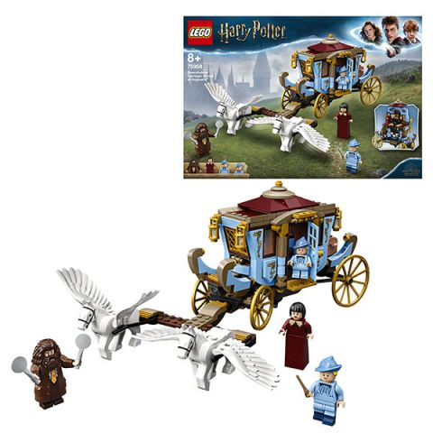 LEGO Harry Potter 75958 Конструктор ЛЕГО Гарри Поттер Карета школы Шармбатон: приезд в Хогвартс