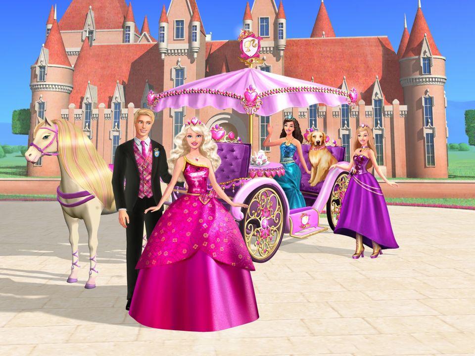 Играть в барби академия принцесс