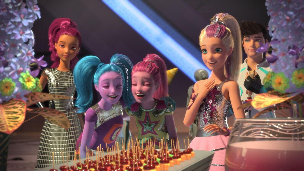 Мультик «Барби и космическое приключение» – детские ...