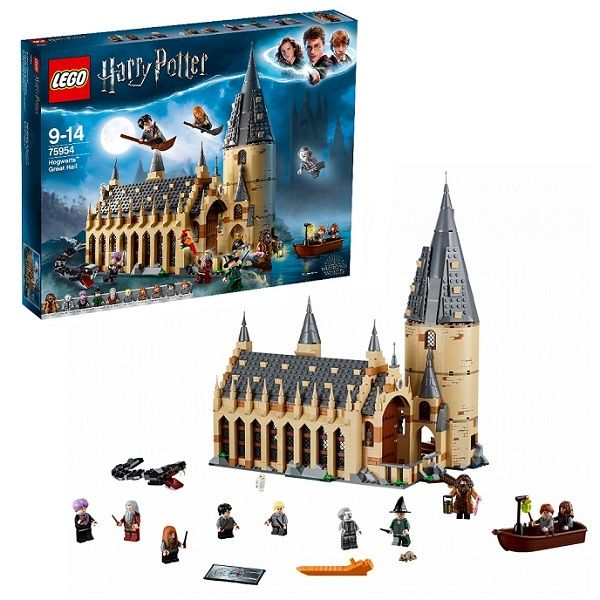 Lego harry potter большой зал хогвартса